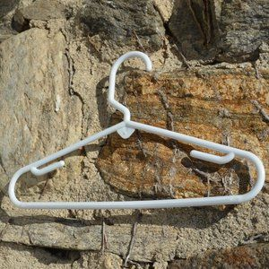 Baby or Toddler Hangers white